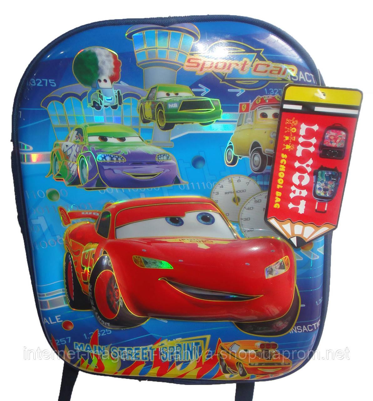 Рюкзак школьный для мальчика 1603G06-2 машина