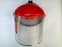891289 Щиток защитный 400х200 мм пластик защита для лица разборной корпус / / МТХ