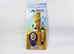 Дитяча зубна щітка з пісочним годинником 3-7 років (Thienel Dental), синя, 1шт.