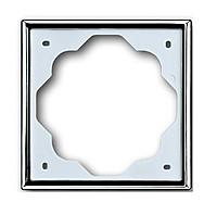 Рамка 1 пост ABB Impuls Хром (1721-726)