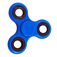 Спиннер Tri Fidget (Сине-черный) Игрушка антистресс