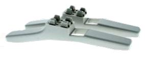 Бытовой электрический конвектор TESY CN 02 100 MAS 1000 Вт ножки