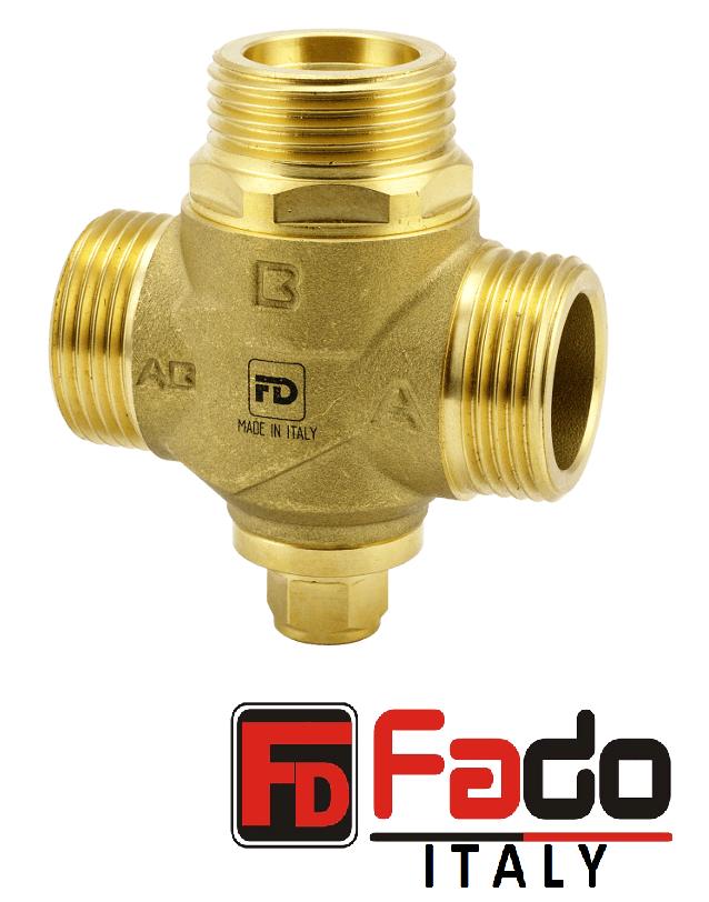"""Клапан трёхходовой антикондесационный FADO 1 1/4"""" 55° арт. AKP02"""