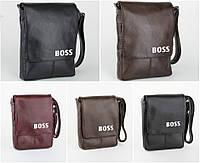 """Сумка мужская с логотипом """"Boss"""" (А5 и А4)"""