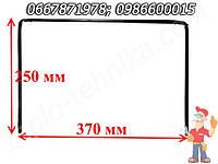 Уплотнения дверей духовки Гефест 50 370X250 мм (37X25 см), 0,7 толщина П-образный без зажима крепления