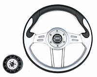 Руль PRETECH HD-5166G 330мм серый