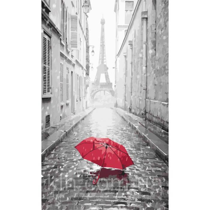 Картина по номерам Идейка Париж (арт. KH2130) 40 х 50 см
