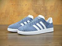 Женские кроссовки Adidas Gazelle (blue), фото 1