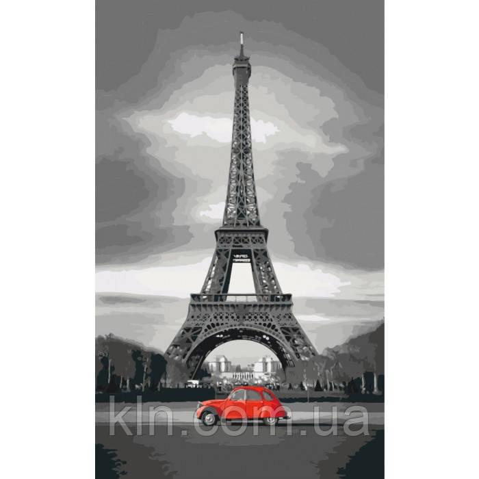 Картина по номерам Париж, Франция 40 х 50 см (арт. KH2147)