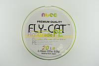 """Шнур рыболовный NTEC """"Fly Cat"""" 0.14 мм."""