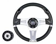 Руль PRETECH HD-5181 330мм, черный