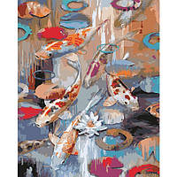 Картина для рисования по номерам Карпы Кои (KH2481) 40 х 50 см