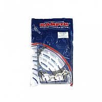 Прокладка головки блока ЕВРО армированная сталью (к-т из 8шт) (ХОРС), 740.30-1003213-02У