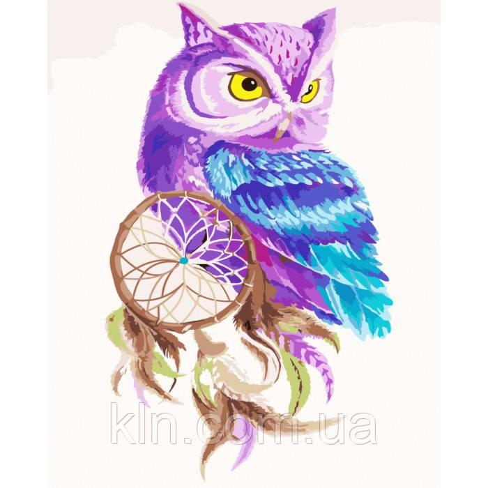 Картина для рисования по номерам Ловец снов (KH2482) 40 х 50 см