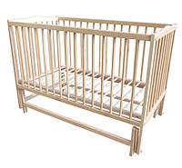 Детская кровать Labona МРИЯ № 3 на шарнирах  (натуральный). Размер  60х120