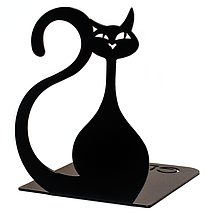 Упоры для книг Glozis Black Cat G-024, фото 3