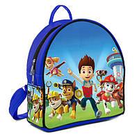 Синий детский рюкзак с рисунком Щенячий патруль