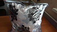 Подушка холлофайбер декоративная с цветами Украина 45х45