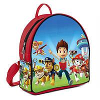 Красный детский рюкзак с рисунком Щенячий патруль