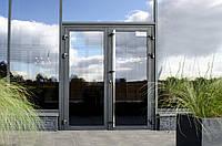 Двери алюминиевые наружные