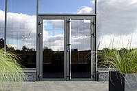 Двері алюмінієві зовнішні