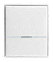 Клавиша механизма LED T/E ABB Time Белый/Белый (5016E-A00070 03)