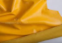 Кожа одежная наппа насыщенно-желтый 15-0033