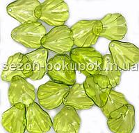 Пластиковые бусины, подвески  Цена за 20 грамм (прим. 33шт)