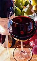 Вино виноградное десертное красное Изабелла