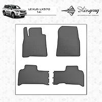 Автомобильные коврики Stingray Lexus LX 570 2014-