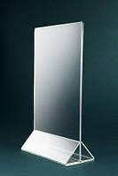 Менюхолдер 148*210мм, с треугольной подставкой