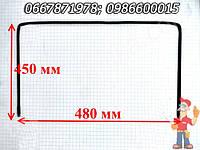 Уплотненительная резинка дверей духовки Гефест 480X450 мм (48*45 см), толщина 7 мм