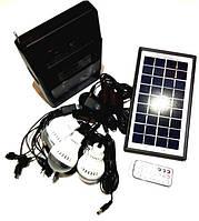 Портативная универсальная солнечная система с пультом управления GDLITE GD-8126