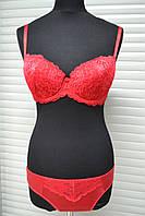 Комплект женского нижнего белья на тонком поролоне