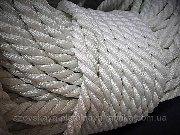 Канат капроновый 14 мм (метражный)