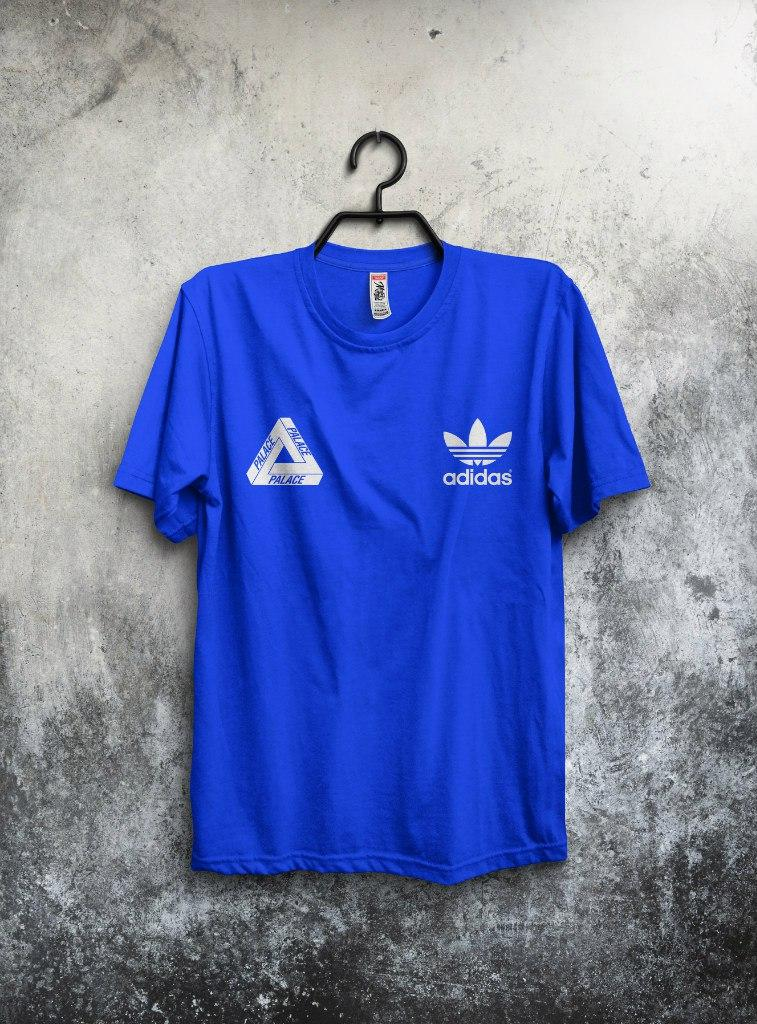 Футболка Adidas & Palace (Адидас и Палас)