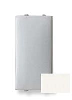 Заглушка 1-модуль ABB Zenit Белая (N2100 BL)
