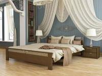 """Деревянная кровать """"Афина"""" (бук) с подъемным механизмом"""