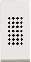 Зуммер 1-модуль ABB Zenit Белый (N2119 BL)