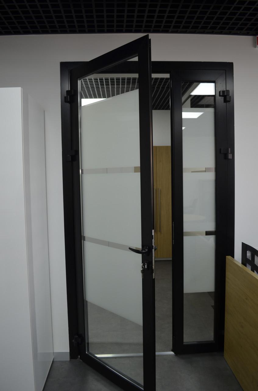 Алюмінієві двері міжкімнатні