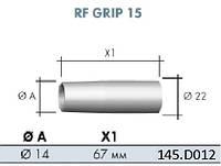 Газ. сопло, коническое                        D 9,0/37,5 мм  для сварочной горелки MIG/MAG RF 12 / 13
