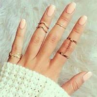 Кольца на фаланги, на несколько пальцев и наборы колец