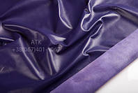 Кожа одежная наппа фиолетово-синий 15-0036