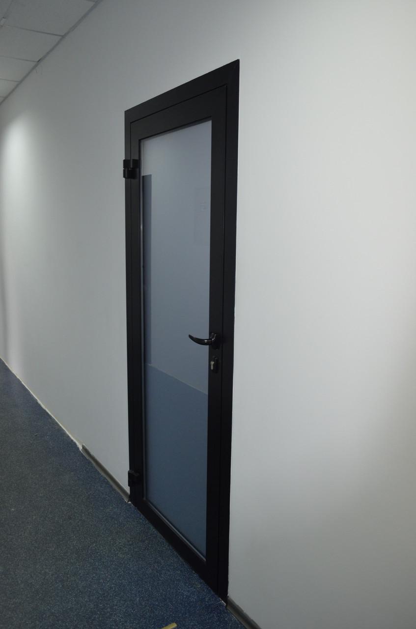 Алюминиевые двери Века Буд