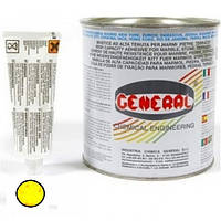 Полиэфирный клей GENERAL VERTICALE transparente 1L (медовый 1.1кг)