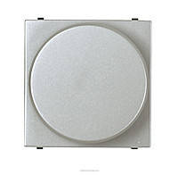 Светорегулятор поворотный для люминисцентных ламп АВВ Zenit Серебристый (N2260.9 PL)