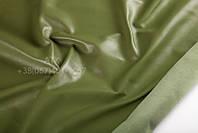 Кожа одежная наппа оливково-зеленый 15-0053