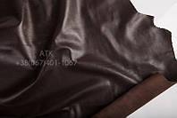 Кожа одежная наппа сепия коричневый 15-0010
