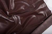 Кожа одежная наппа каштаново-коричневый 15-0011