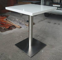 Столешница 680*680*32 для стола из акрилового камня